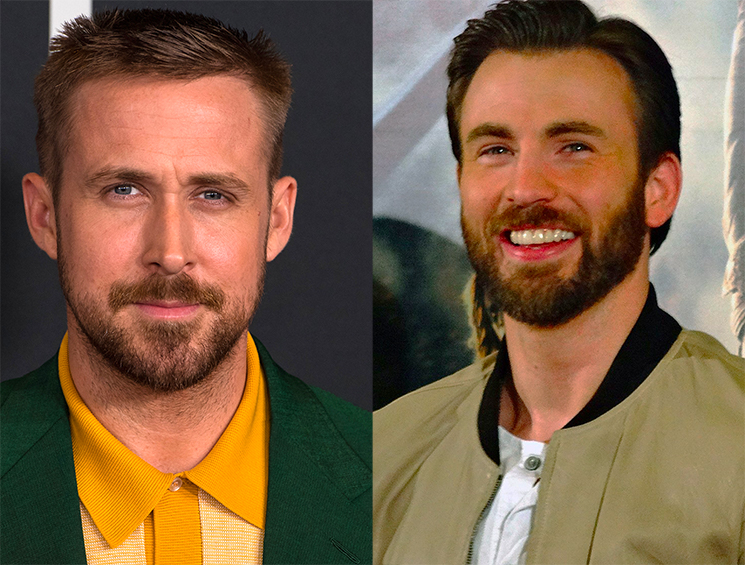 Ryan Gosling and Chris Evans Are Starring in the Most Expensive Netflix Movie Ever Made