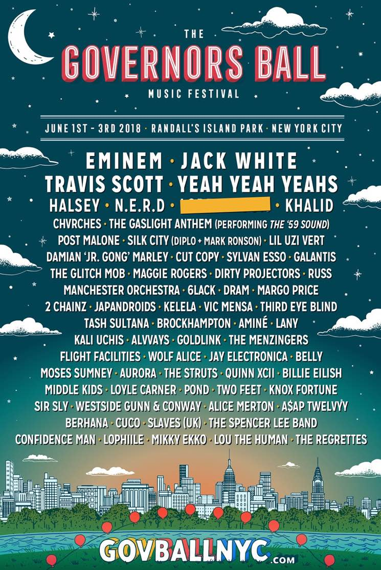 ​2 Chainz Isn't Happy About His Placement on the Governors Ball Lineup Poster