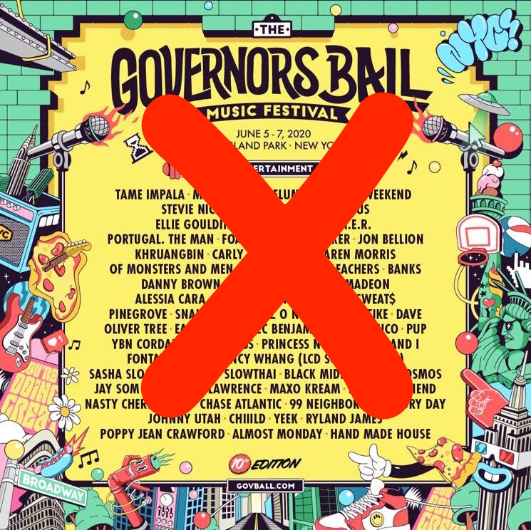 Governors Ball Cancels 2020 Edition