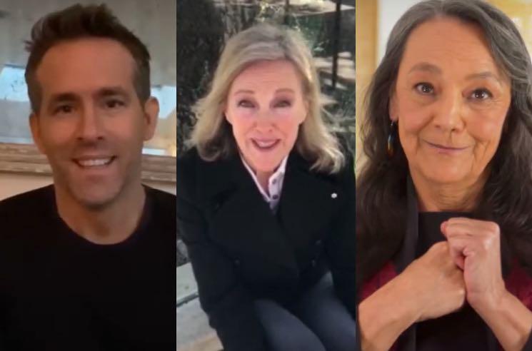 Ryan Reynolds, Catherine O'Hara and Tantoo Cardinal Receive Governor General's Arts Awards