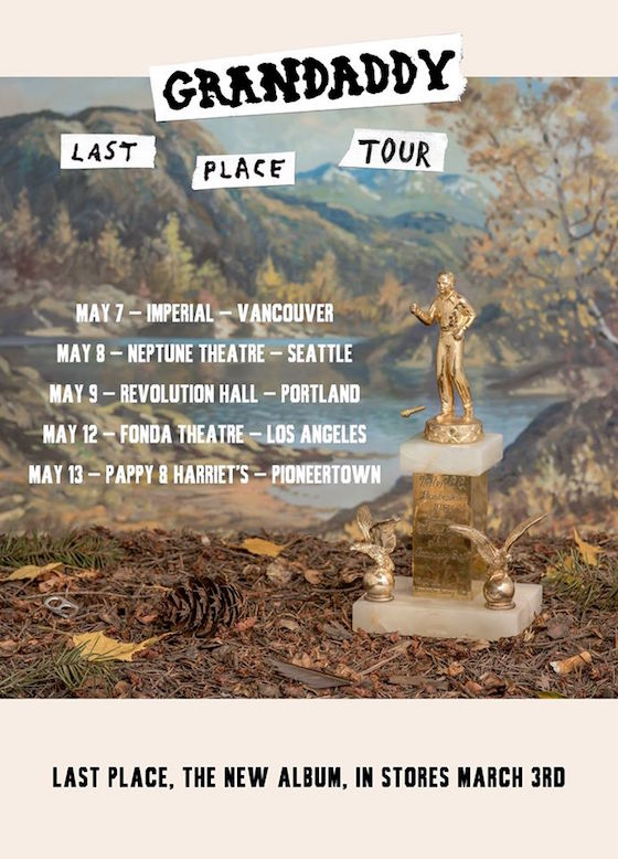 Grandaddy Plot West Coast Tour in Support of 'Last Place'