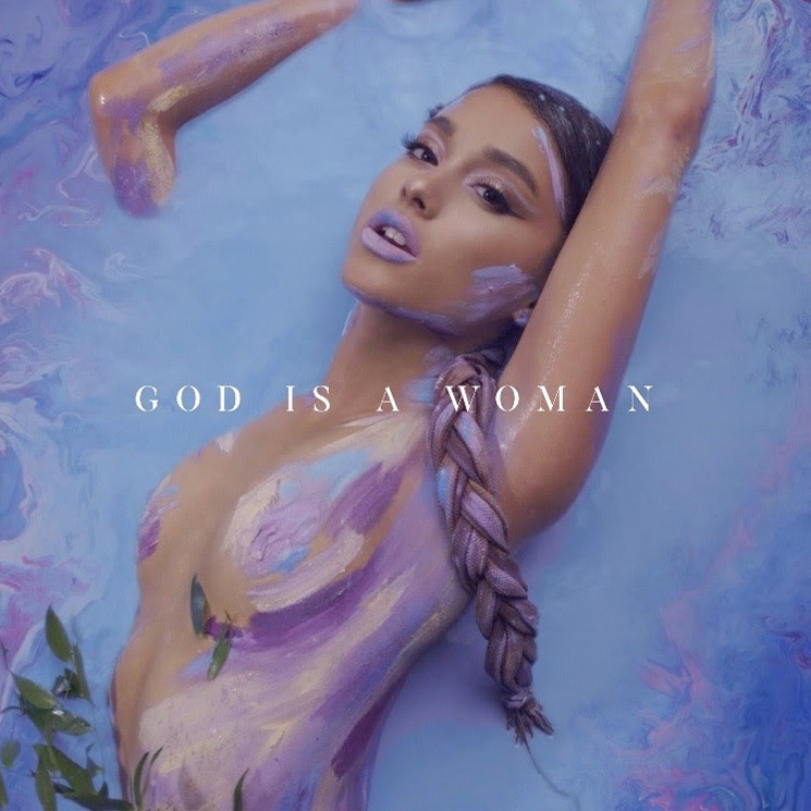 "Ariana Grande Reveals New 'Sweetener' Single ""God Is a Woman"""