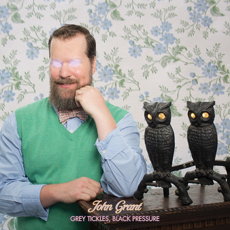 John Grant Announces 'Grey Tickles, Black Pressure' LP