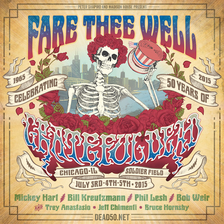 Grateful Dead Reunite with Trey Anastasio for Farewell Shows