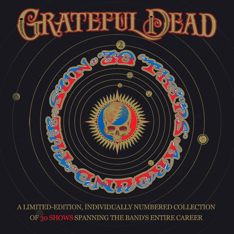 Grateful Dead Celebrated with 80-Disc Live Box Set