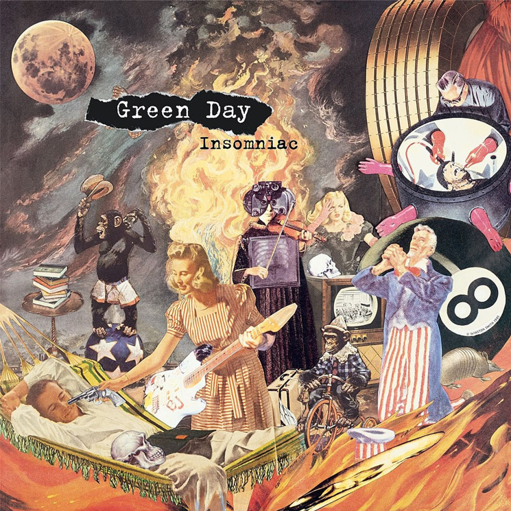 Green Day Celebrate 25 Years of 'Insomniac' with Remastered Vinyl, Vintage Merch Designs