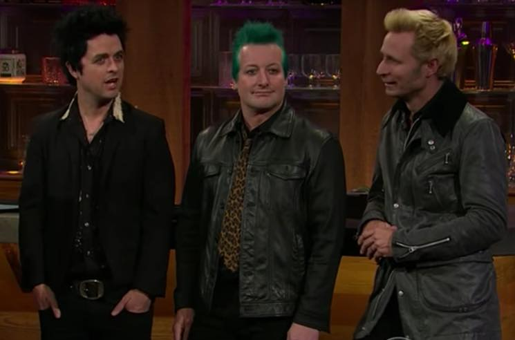 ​Green Day Explain Their Anti-Trump AMAs Performance