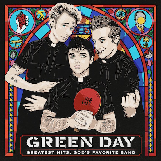 Green Day Declare Themselves 'God's Favorite Band' on Hits Comp