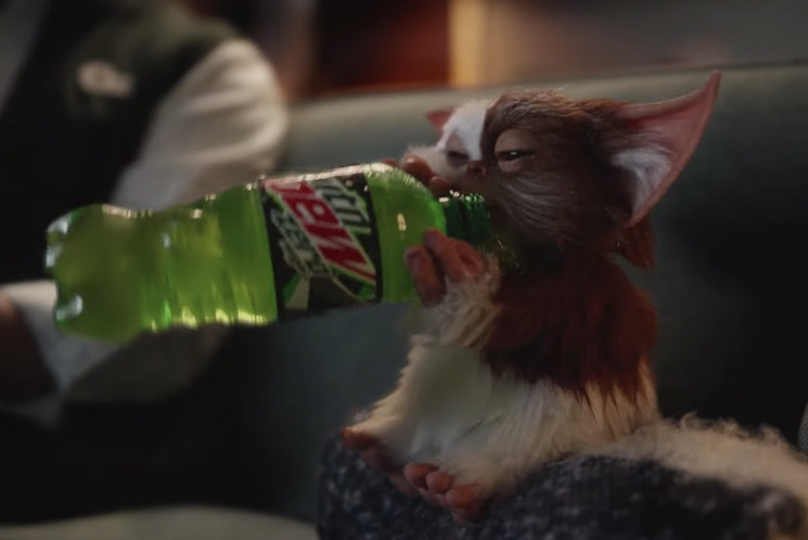 Gizmo and the Gremlins Return for a Mountain Dew Commercial