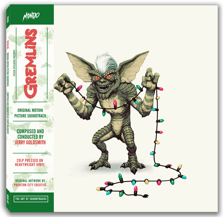 This 'Gremlins' Vinyl Reissue Transforms When You Expose It to Water and Bright Light