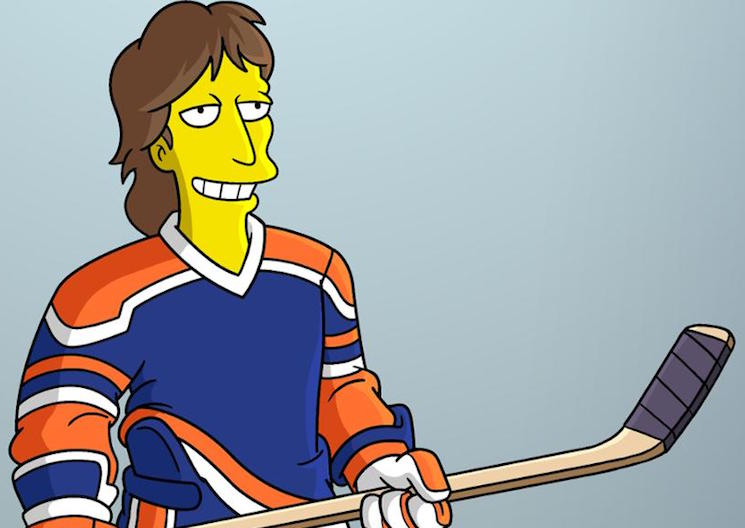 Wayne Gretzky to Appear on 'The Simpsons'