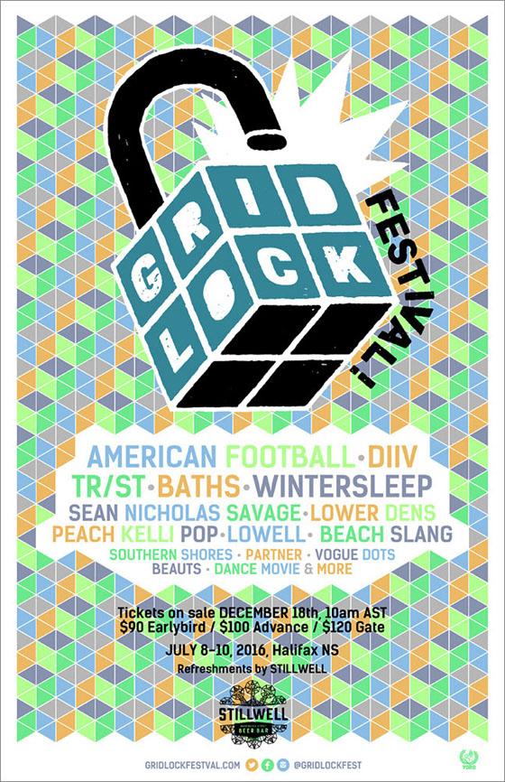 Halifax's Gridlock Festival Books DIIV, Wintersleep, Beach Slang for Inaugural Edition