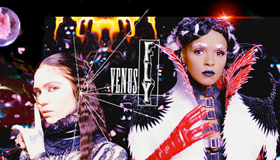 Watch Grimes and Janelle Monáe Live Out Their Final Fantasy in New 'Venus Fly' Video