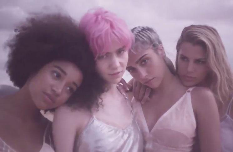 Watch Grimes Star in Stella McCartney's New Perfume Ad
