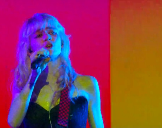 "Grimes ""Flesh Without Blood"" (live on 'Fallon')"
