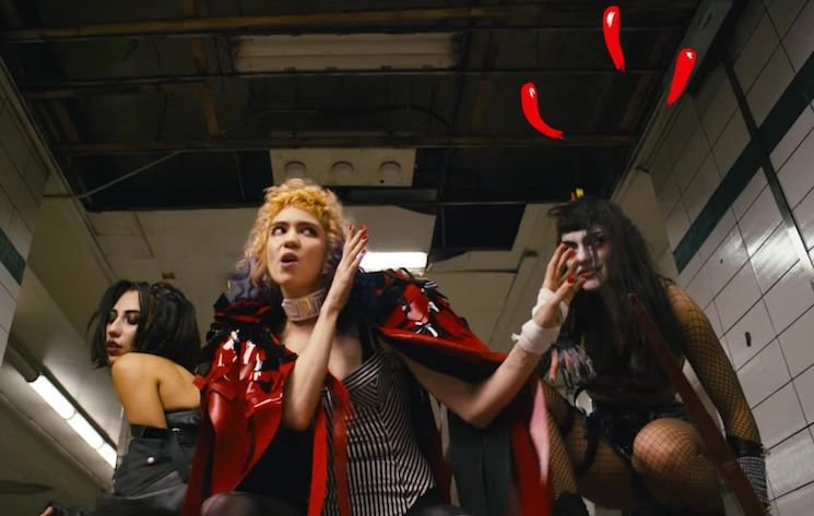 "Grimes ""Kill V. Maim"" (video)"