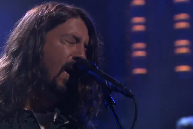 "Foo Fighters ""I Am a River"" (live on 'Fallon')"