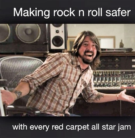 """Beefs 2014: Mastodon's Brent Hinds Accuses Dave Grohl of """"Making Rock'n'Roll Safer"""""""