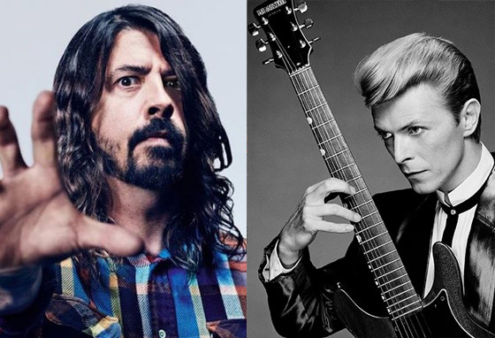 "Dave Grohl Recounts the Time David Bowie Told Him to ""Fuck Off"""