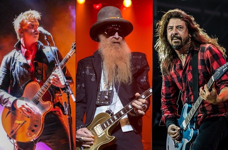 Dave Grohl and ZZ Top's Billy Gibbons Are Recording with Josh Homme