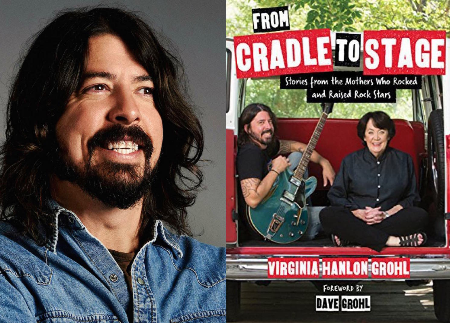 ​Dave Grohl's Mom Wrote a Book About Being Dave Grohl's Mom