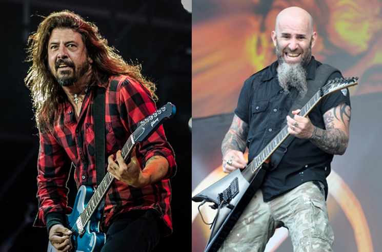 "Watch Dave Grohl Cover Pantera's ""Walk"" with Members of Slipknot and Anthrax"