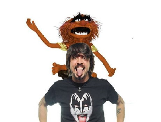 Dave Grohl Returns to 'The Muppets' to Challenge Animal in Drum-Off