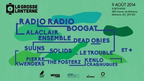 Quebec's La Grosse Lanterne Festival Taps Solids, Suuns, Radio Radio