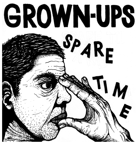 Grown-Ups Announce New 7-Inch