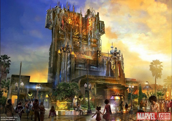 Here's Your First Look at Disneyland's 'Guardians of the Galaxy' Ride