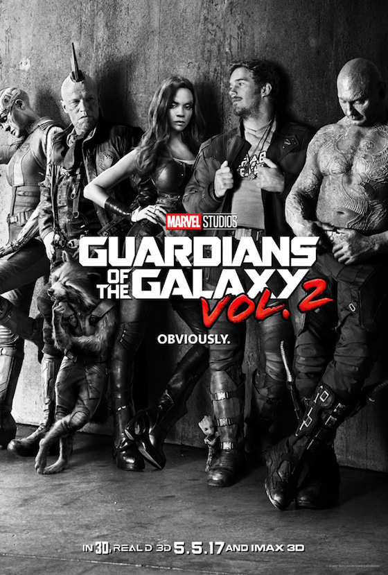 Here's the First Trailer and Poster for 'Guardians of the Galaxy Vol. 2'