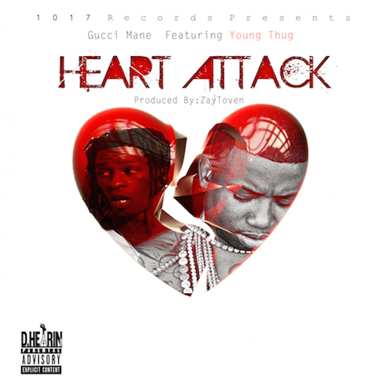 "Gucci Mane ""Heart Attack"" (ft. Young Thug)"