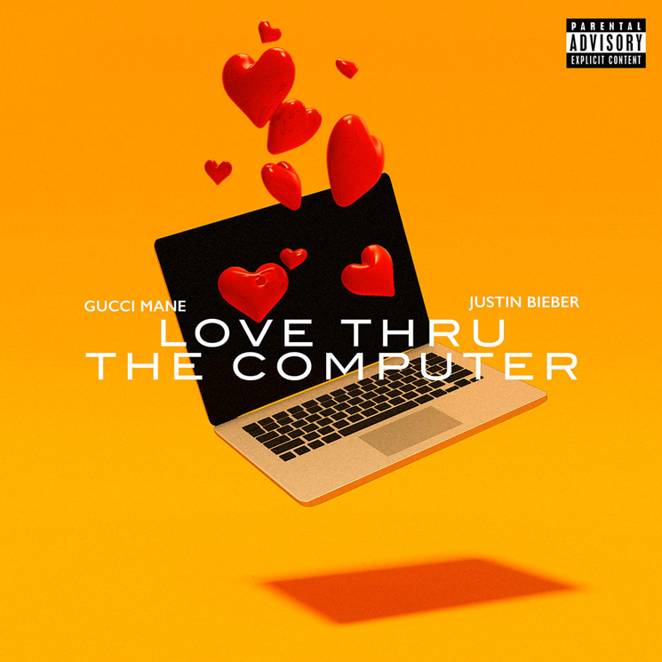 "Justin Bieber and Gucci Mane Team Up for ""Love Thru the Computer"""