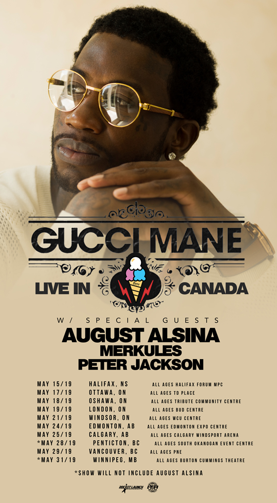 Gucci Mane Maps Out First-Ever Canadian Tour
