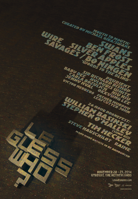 Utrecht's Le Guess Who? Festival Announces Michael Gira-Curated Program and 24-Hour Dronefest