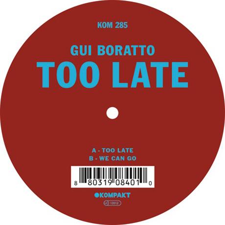 Gui Boratto Reveals New 12-Inch