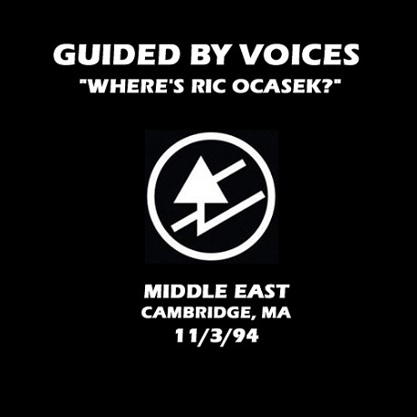 Guided By Voices 'Where's Ric Ocasek' (live bootleg from 1994)