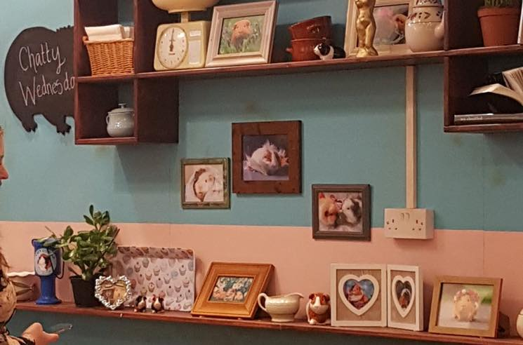'Fleabag' Inspires Actual Guinea Pig Café in London
