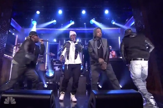 "G-Unit ""I'm Grown"" (live on 'Fallon')"