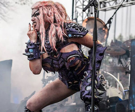 Gwar Frontwoman Vulvatron Is Having None of Your Petty Human Sexism