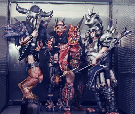Gwar Behind the Masks