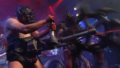 "Gwar ""Madness at the Core of Time"" (video)"