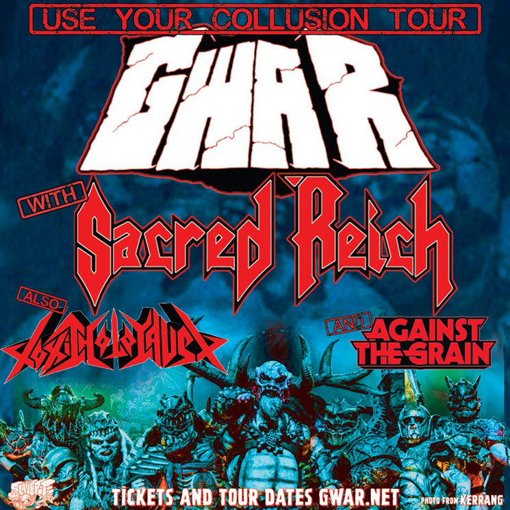 ​GWAR to Play Toronto on 'Use Your Collusion Tour'