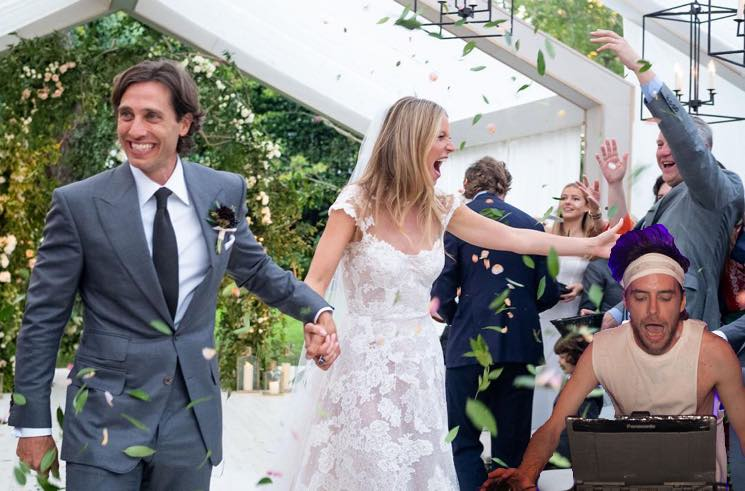 Gwyneth Paltrow Got Girl Talk to DJ Her Wedding to Brad Falchuk
