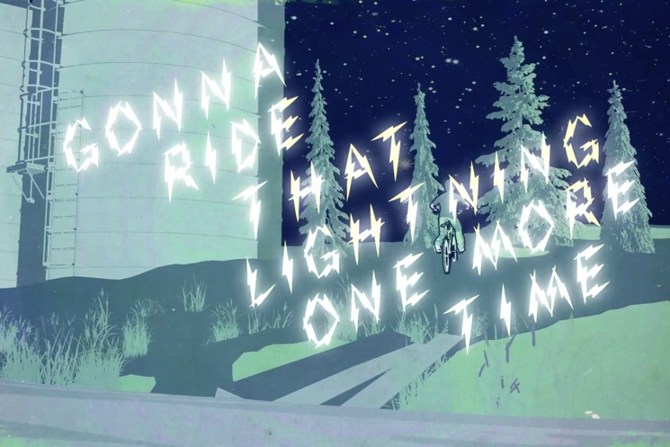 "Chris Hadfield ""Ride That Lightning"" (lyric video)"