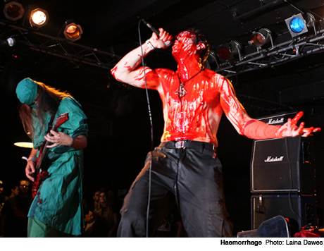 Haemorrhage Club Sonar, Baltimore MD May 26