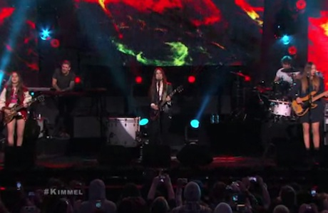 "HAIM ""The Wire"" / ""Forever"" (live on 'Kimmel')"