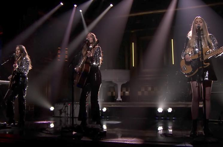 ​Watch HAIM Perform 'Want You Back' on 'Fallon'