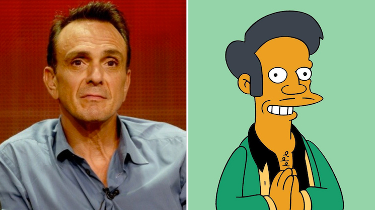 Hank Azaria Says He's Willing to Stop Voicing Apu on 'The Simpsons'
