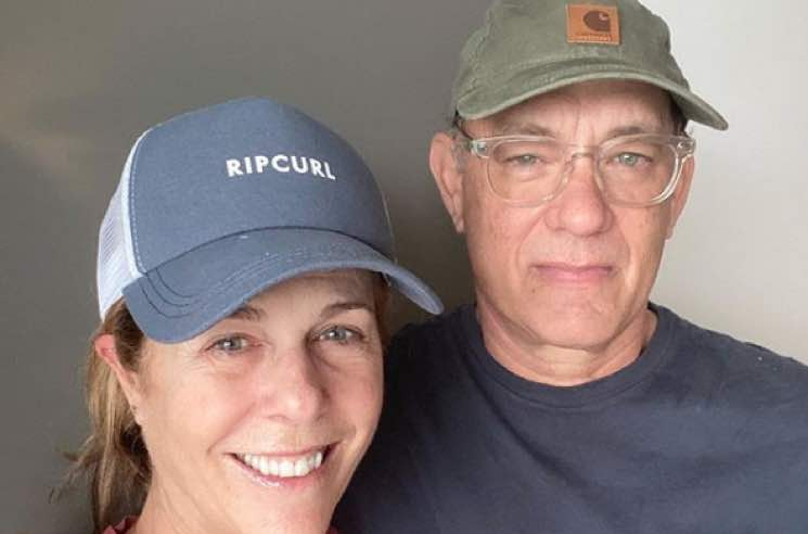 Tom Hanks and Rita Wilson Share COVID-19 Update from Quarantine